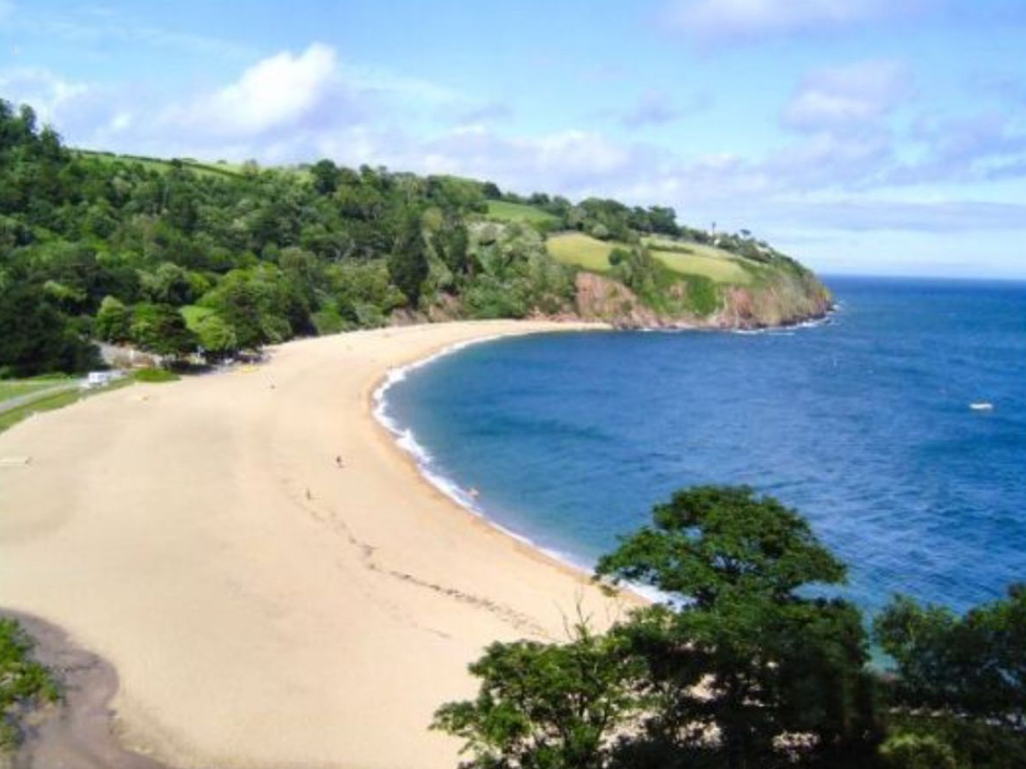 There are so many beautiful beaches close by.